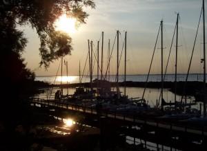 Vor allem abends entfaltet der Hafen seinen ganzen Charme.
