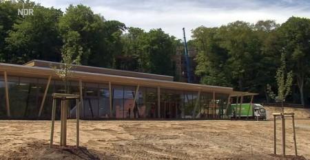 Naturerbe-Zentrum in Prora auf Ruegen