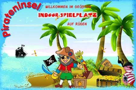 Pirateninsel Putbus auf der Insel Ruegen